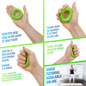 Hand Exerciser Kit - 6 pack