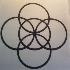 Five fold symbol for balance and serenity