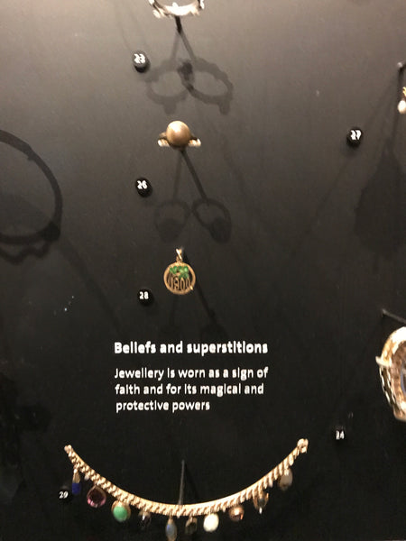 v&A liwu jewellery visit beliefs and protection history of jewellery