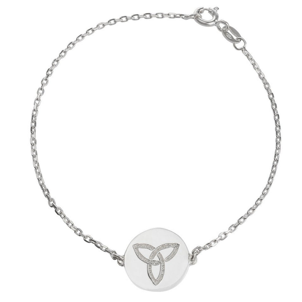 ETERNITY SILVER CELTIC BRACELET (Symbolising Eternal Love and Protection)