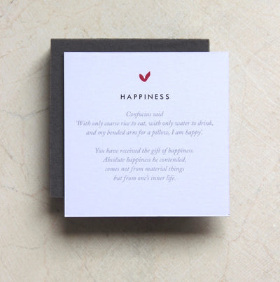HAPPINESS GOLD EARRINGS