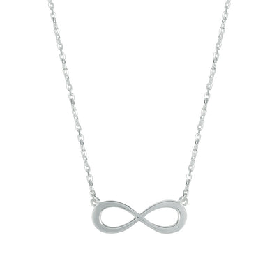 INFINITY SILVER NECKLACE (Symbolising Infinite Possibilities)