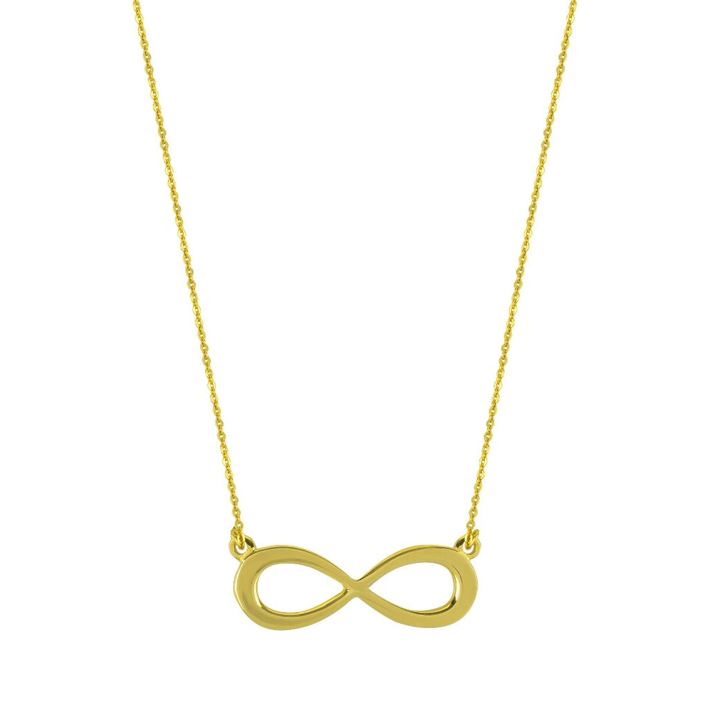 infinity symbol necklace by liwu jewellery