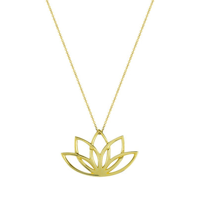 NEW BEGINNINGS SOLID GOLD NECKLACE