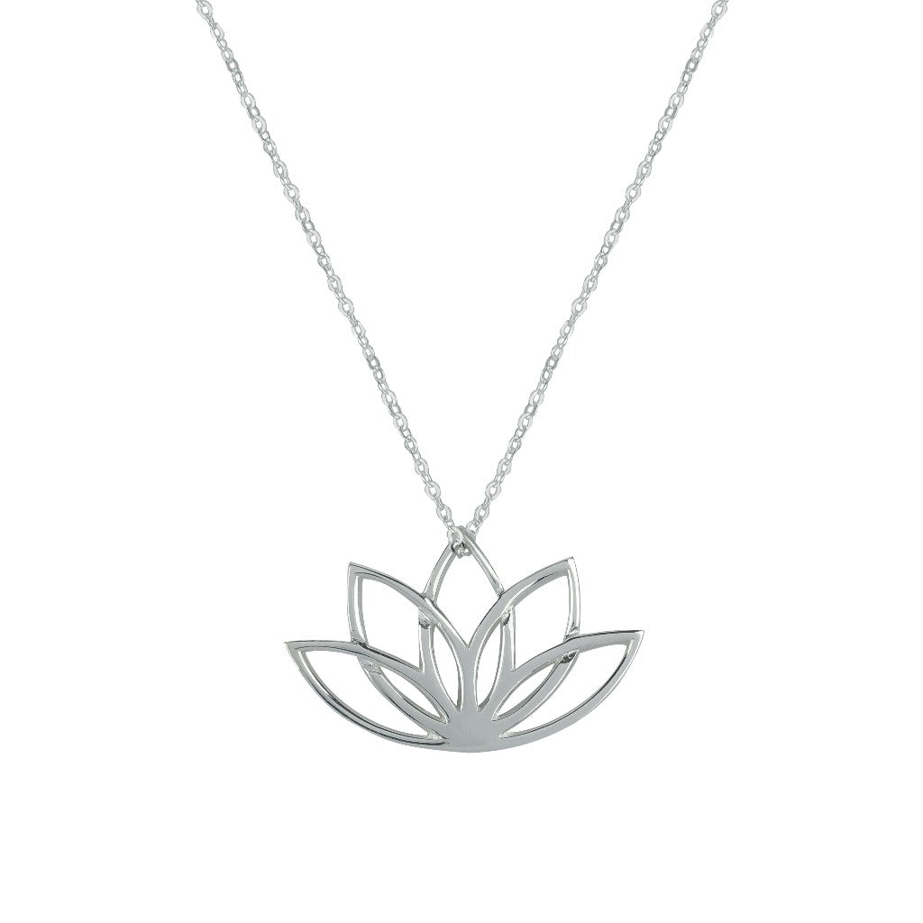 NEW BEGINNINGS SILVER NECKLACE (Symbolising New Beginnings and Enlightenment)