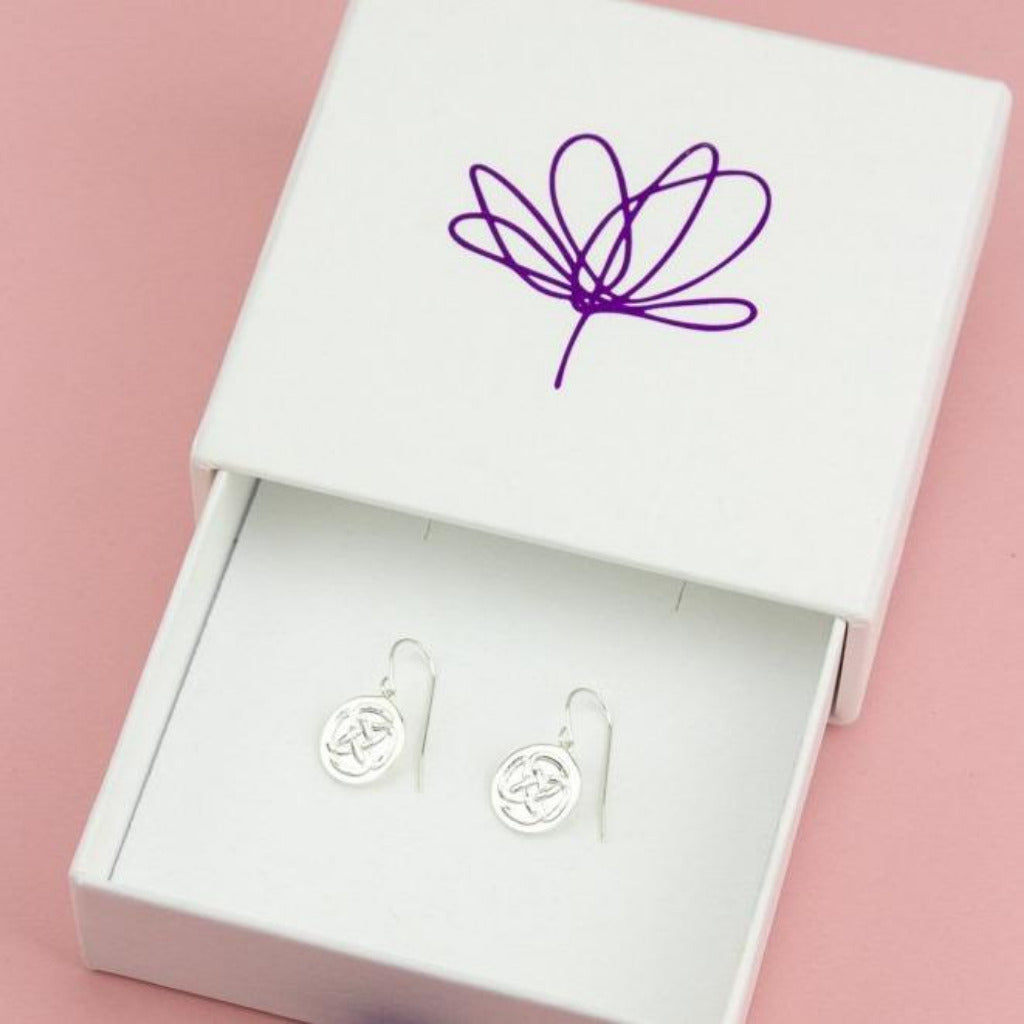 STRENGTH SILVER EARRINGS (Symbolising Inner Strength)