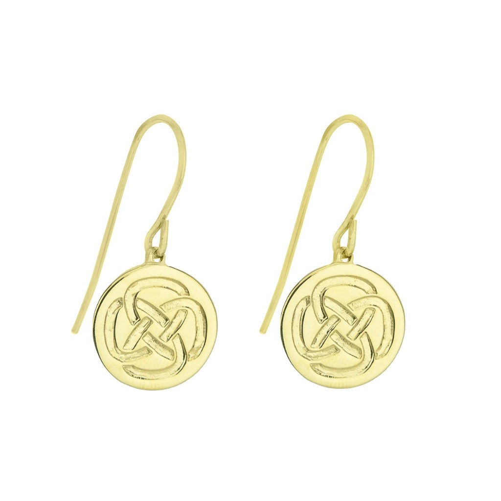STRENGTH GOLD EARRINGS (Symbolising Inner Strength)