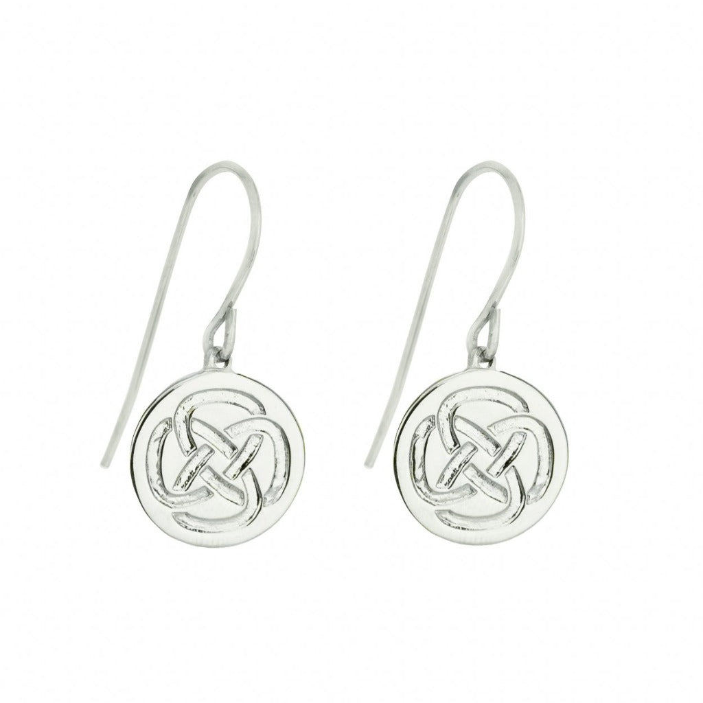 Inner Strenght Earrings In Silver