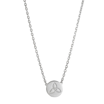 silver celtic knot necklace by liwu jewellery meaning celtic love