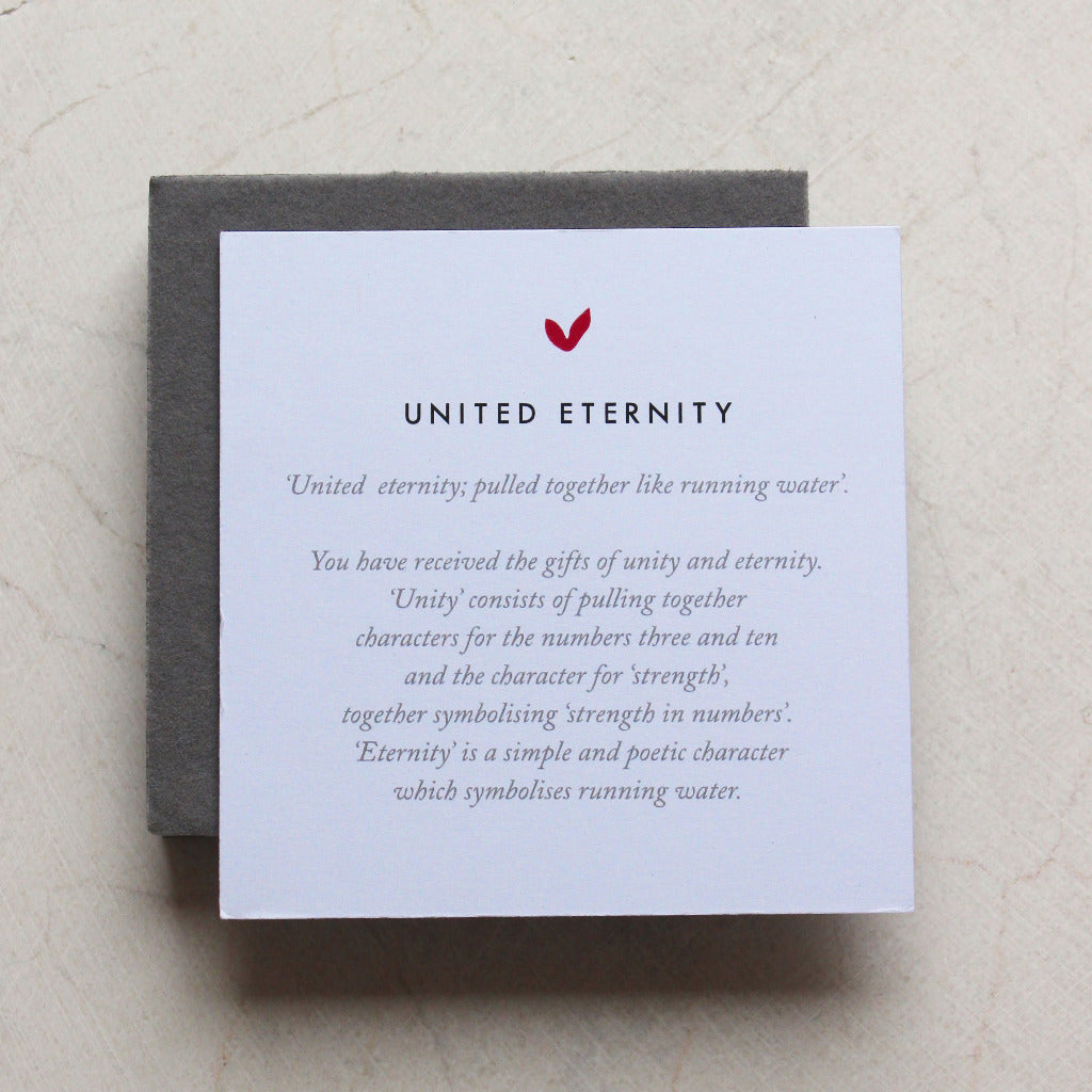United Eternity Silver Bracelet