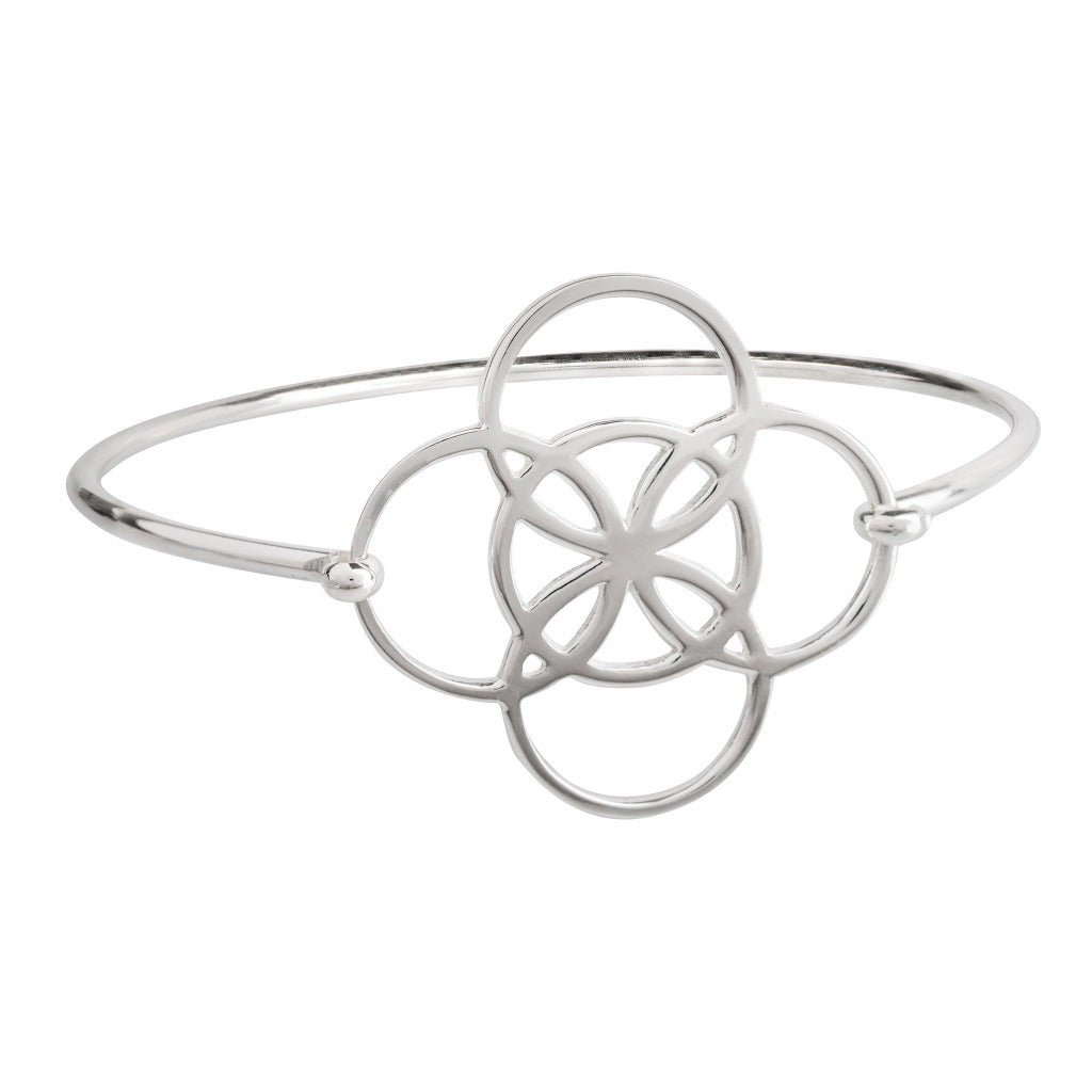 serenity symbol bangle by irish jewelry brand liwu jewelry