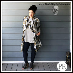 Paisley Raye Dusty Miller get yours at Ciao Bella Boutique in Virginia Beach. www.darksidefashion.com
