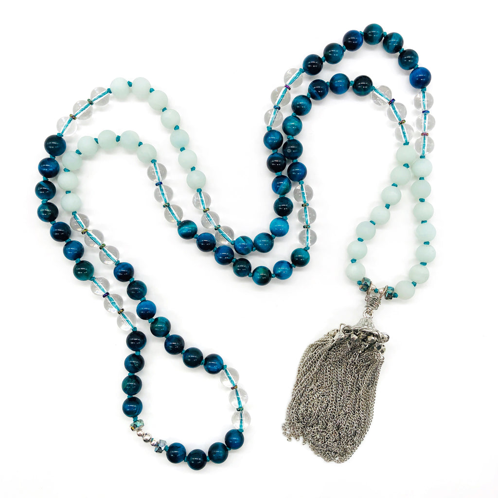 Calming Waves Mala