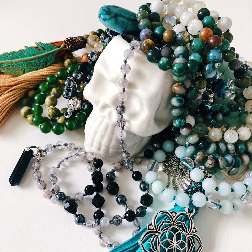Custom Gemstone Mala