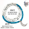 Moon Child - Apatite/Howlite Mala