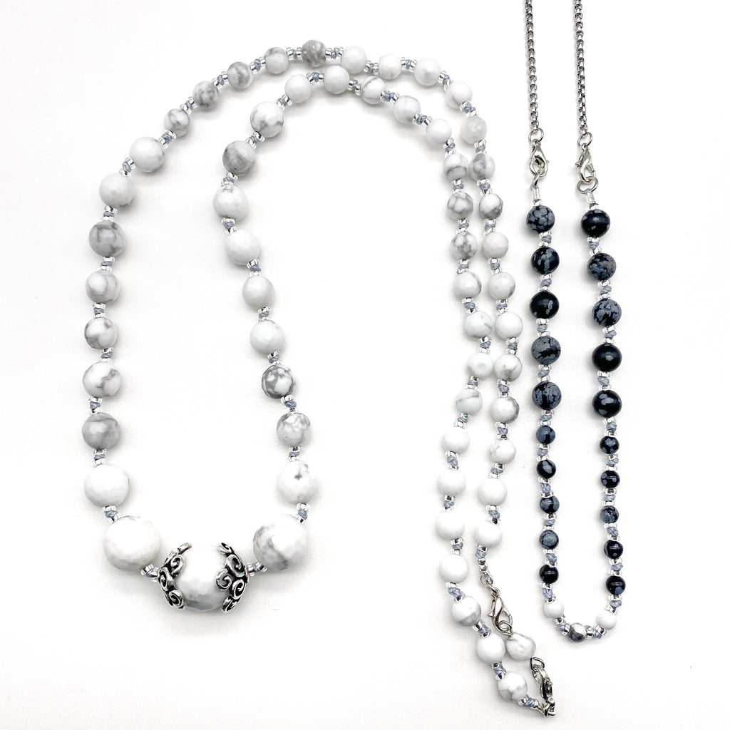 Light and Dark Transitional Necklace