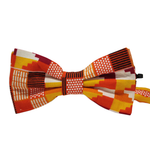 Pre-tied bow tie - Brown African Okapi