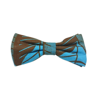 Self-tied bow ties - Ocean Leaves