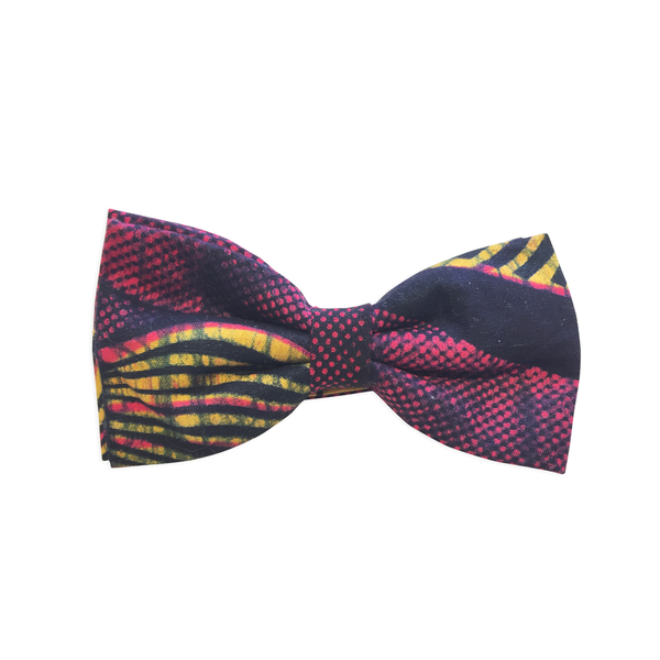 Pre-Tied Bow Ties - Dark Red Marvel