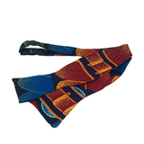 Self-tie bow tie - Velvet Midnight