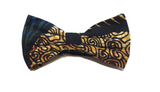 Self-Tied Bow Ties - Golden Tiger