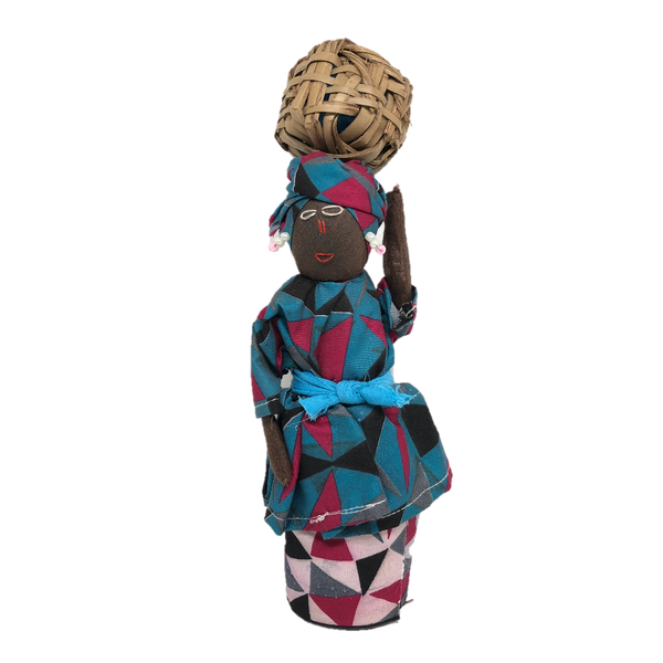 African doll - Teal