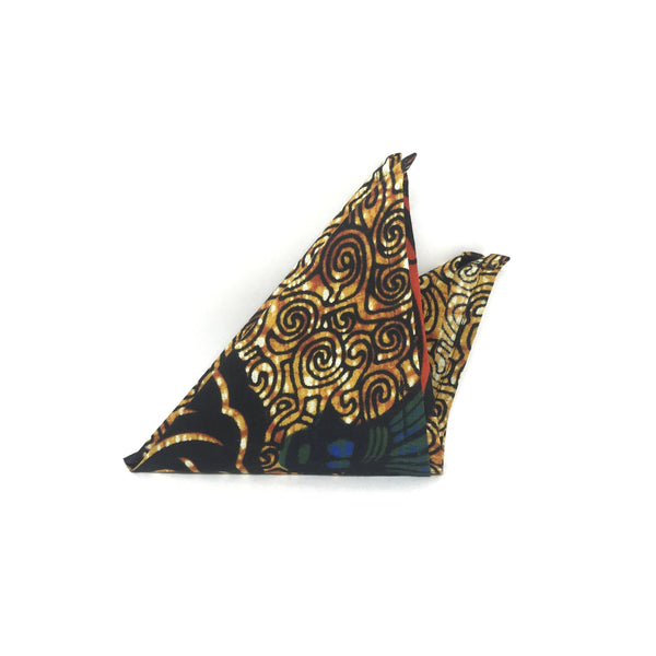 Pocket Square - Golden Tiger