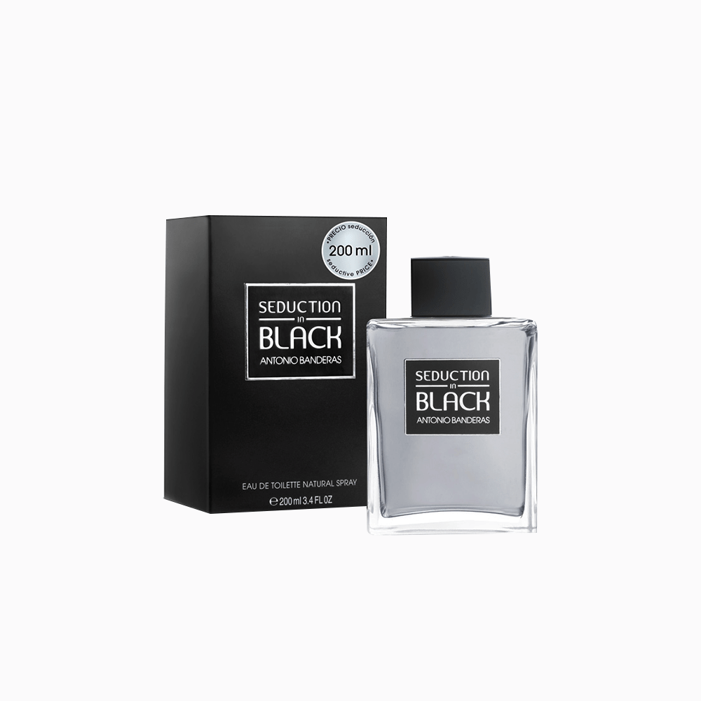 Antonio Banderas Antonio Banderas Seduction in Black EDT 200 ML (H)