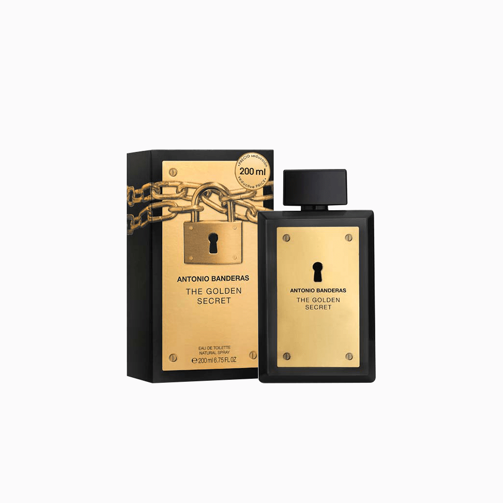 Antonio Banderas Antonio Banderas The Golden Secret EDT 200 ML (H)
