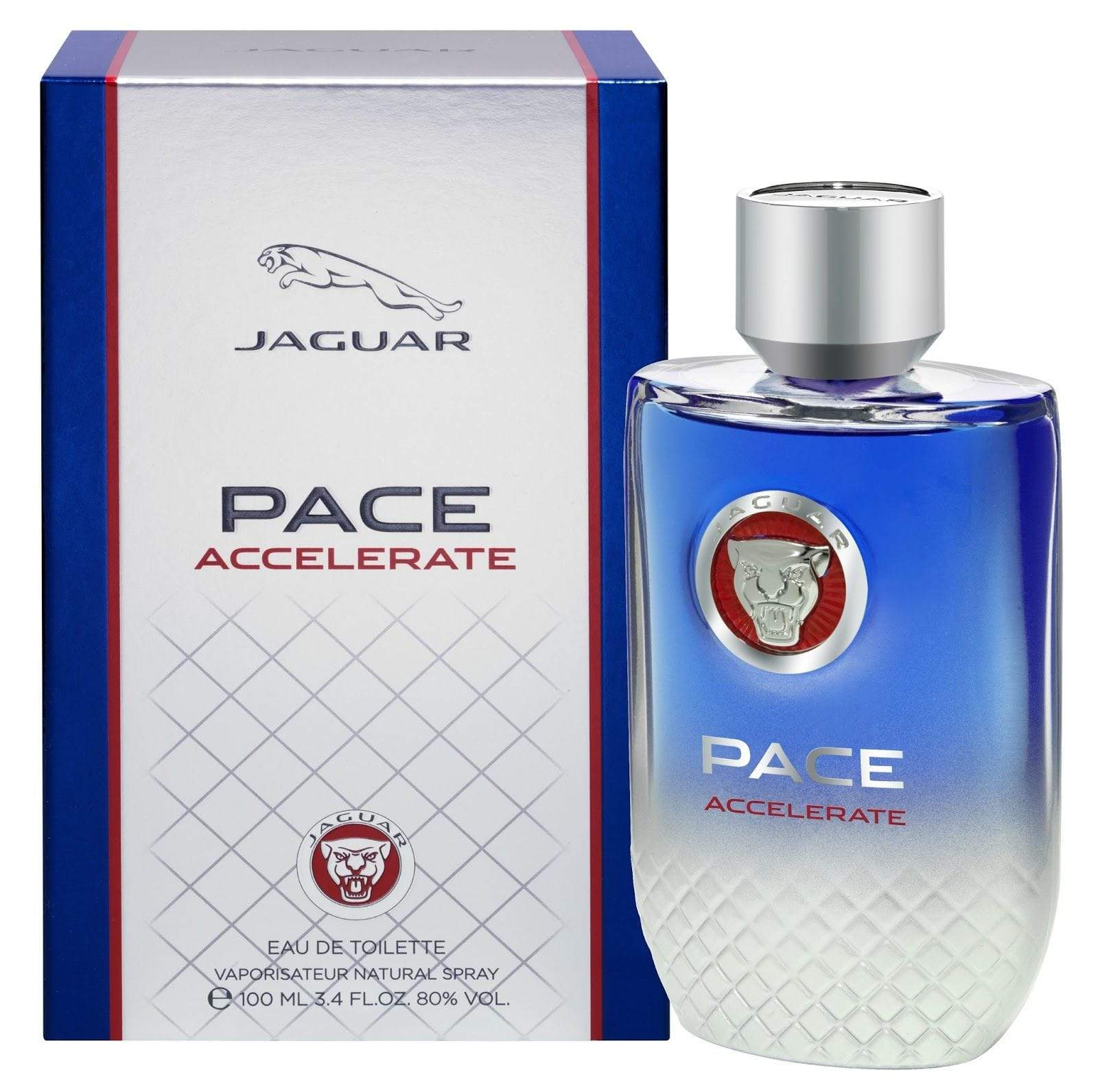 Jaguar Jaguar Pace Accelerate EDT 100 ML (H)