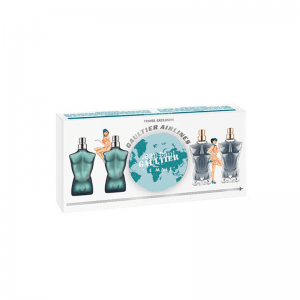 Jean Paul Gaultier Jean Paul Gaultier Set Miniaturas Le Male EDT 2x 7 ML + Le Male Essence de Parfum Intense 2x 7ML (H)