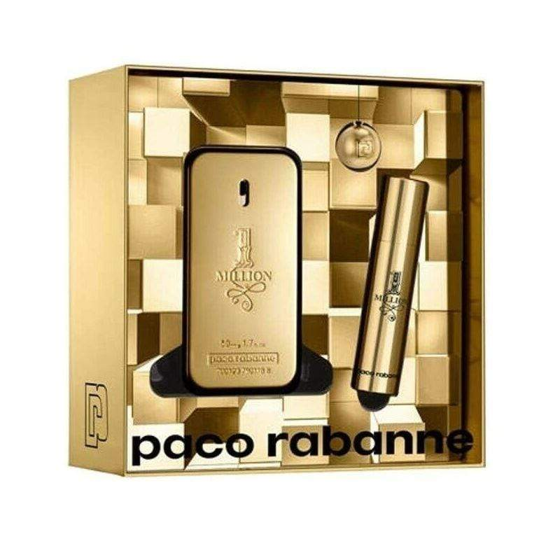 Paco Rabanne Paco Rabanne One Million Set EDT 50 ML + EDT 10 ML + Llavero (H)