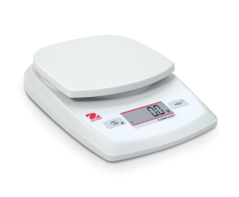 PORTABLE BALANCE OHAUS CR621 620GX0.1G 125MMX132MM PAN WITH BATTERIES
