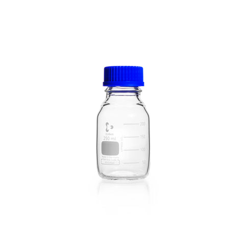 REAGENT BOTTLE DURAN W/MOUTH WITH 25MM CAP AND RING 25ML