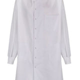 LAB COAT HOWIE STYLE WHITE POLY/COTTON 102-108CM CHEST LARGE