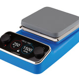 Hotplate/stirrer 325ºC/1400rpm alu. top plate 150 x 150mm Prem. blue 230V 50Hz