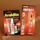 ARALDITE RAPID ADHESIVE PACK OF RESIN AND HARDENER TUBES