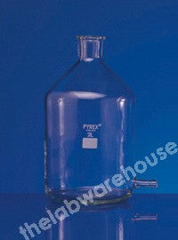ASPIRATOR PYREX UNGROUND NECK SIDE ARM NO STOPPER 250ML