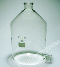 ASPIRATOR PYREX UNGROUND NECK 29/32 SIDE SOCKET 20000ML