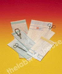 STERILISING BAGS PAPER HEAT SEAL CLOSURE 190X330MM PK.500