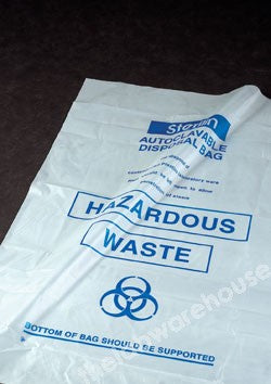 DISPOSAL BAGS NON STERILE PE 610X810MM PK 200