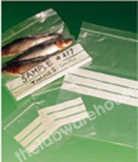 RESEAL SAMPLE BAGS PE PANEL 120 X 170MM PK.100