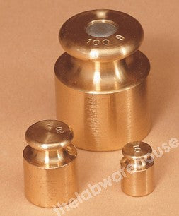 WEIGHT TURNED BRASS OIML M2 2G