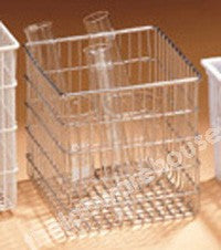 BASKET RECTANGULAR ST./STEEL WIRE 150MM CUBE