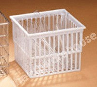BASKET RECTANGULAR PP TAPERED 143X120X109MM