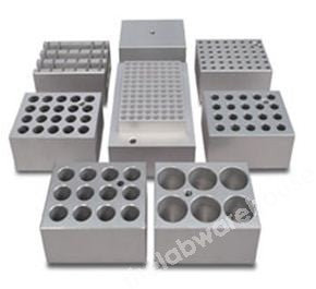 ALUMINIUM BLOCK FOR BK280-SERIES 8X19.5MM TUBES