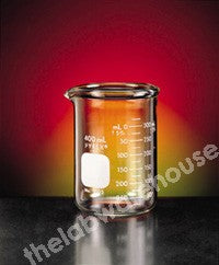 BEAKER PYREX GLASS HEAVY DUTY LOW FORM WITH SPOUT 4000ML
