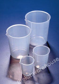BEAKER PP WITH GRAD'S AND SPOUT TO ISO7056 600ML