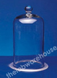 BELL JAR GLASS KNOB TOP 300X200MM