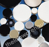 CAPS BLACK ENAMELLED METAL WAXED WOODPULP WAD R3/33 PK 100